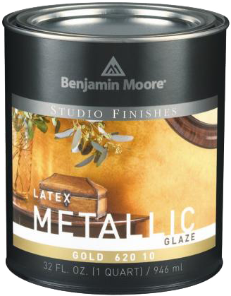 Studio Finishes® Latex Metallic Glaze 620